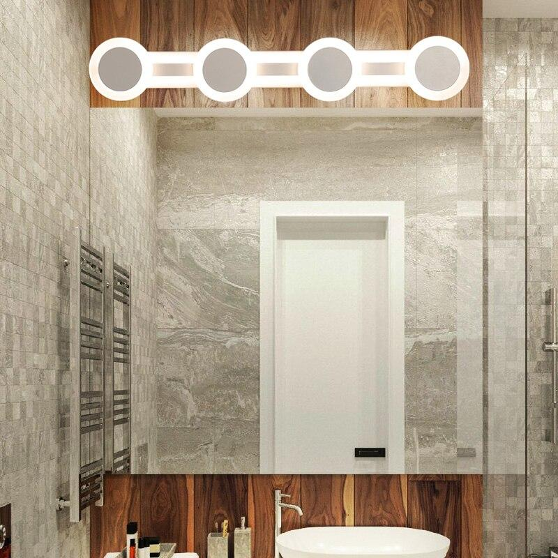 Modern Acrylic wall mounted bathroom lighting