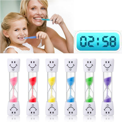 Children Kids hourglass Tooth Brushing Timer