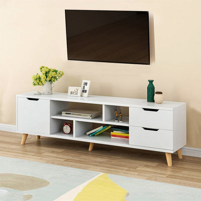Modern Coffee Table Television Stands Living Room TV Stand With Three Cabinet