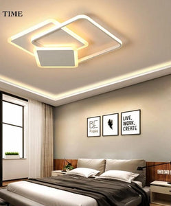 Coffee&White Chandelier Ceiling Lamp Light Fixtures