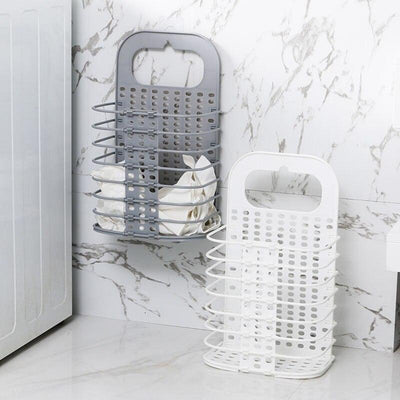 Foldable Wall Hanging Laundry Basket