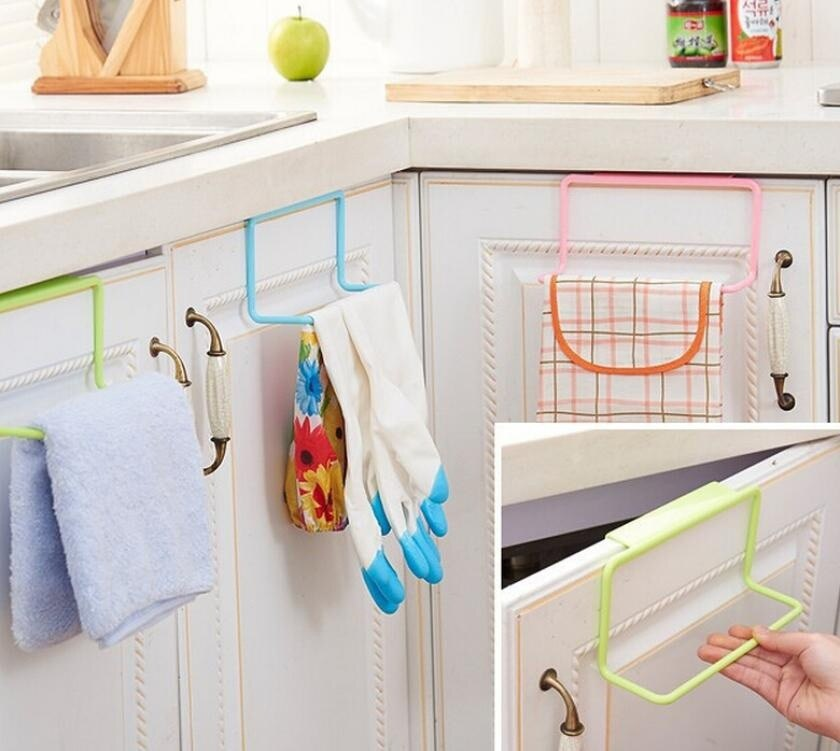 Towel Rack Hanging Holder Organizer