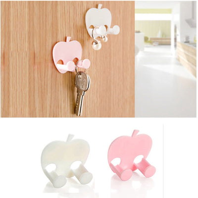 Multifunction Finishing Sticky Hooks Plug Holder