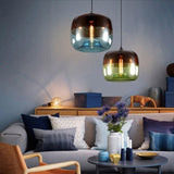 Art deco loft Nordic colorful Pendant Lamp Fixtures