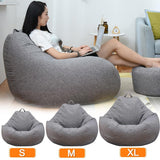 Large Small Lazy Sofas Puff Couch