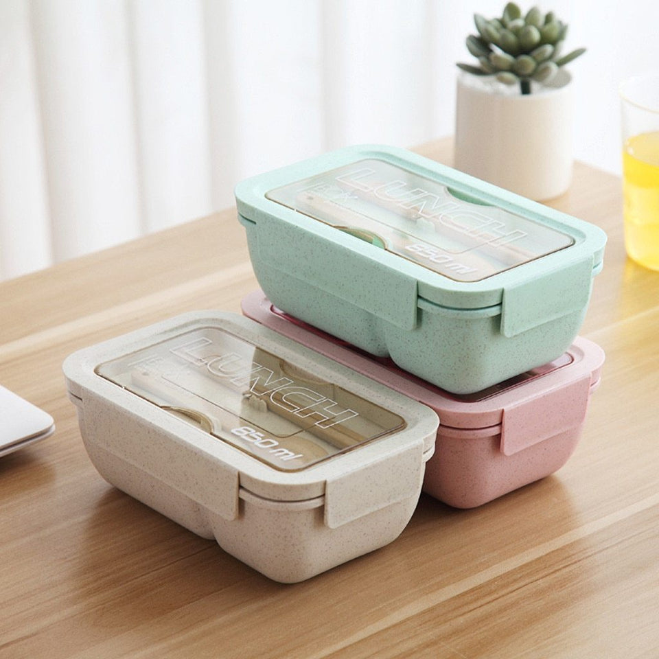 Microwave Lunch Box Containers with Compartments