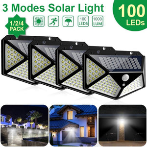 100 LED Solar Light Outdoor  for Garden Decoration Wall Street
