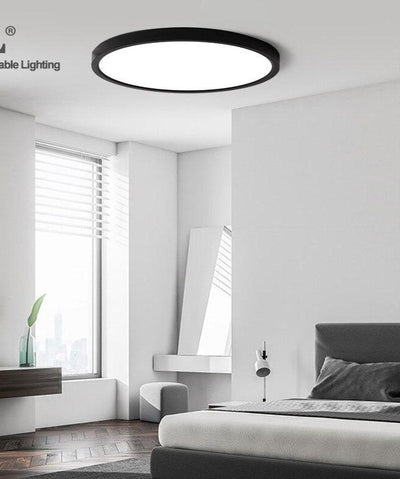 Black Shell LED Ceiling Light