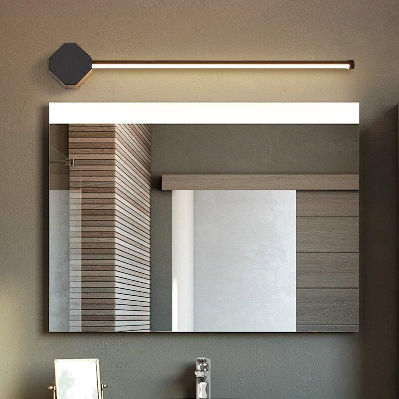 Washroom Mirror make up lights
