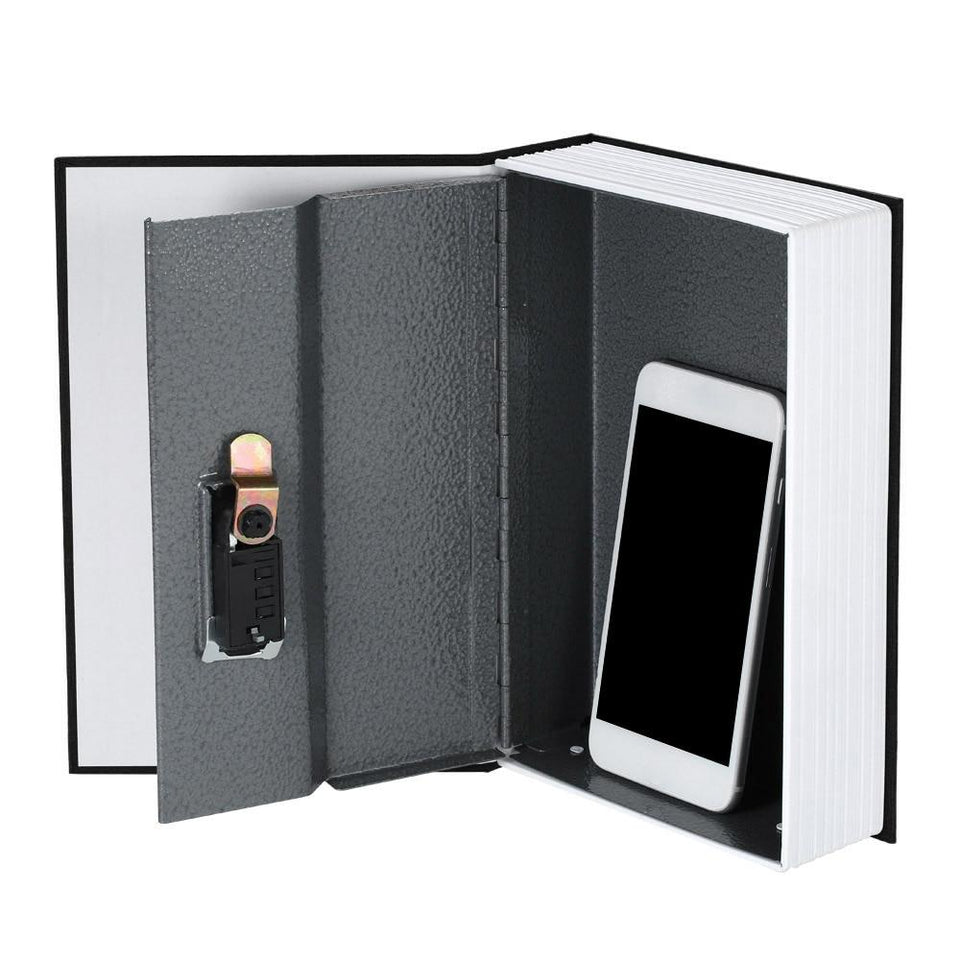 Dictionary Safe Box Book Money Jewelry key Locker Storage Container