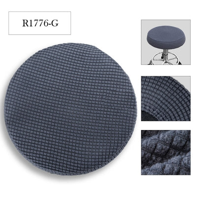 Round Chair Cover Universal Size Big Elastic Stretch Seat Chair Covers Slipcovers Restaurant Banquet Home Party Decoration