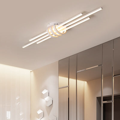 Matte Black/White 90-260V Modern Led Ceiling lamp Fixtures