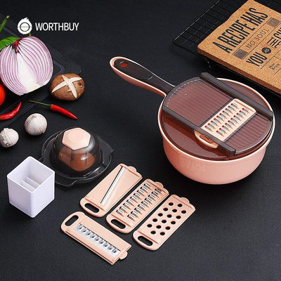 Multifunction Vegetable Carrot Potato Grater With Blade