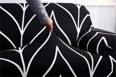 Armless Elastic Couch Folding Slipcovers