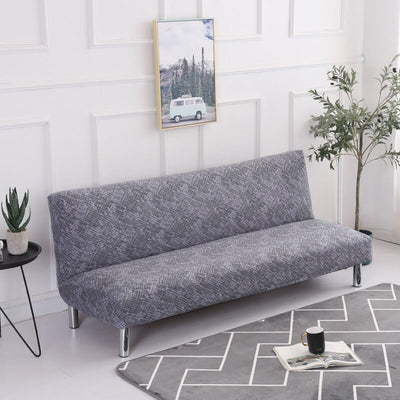 Length 160-190cm Elastic Sofa Bed Cover Armless Cheap Tight Wrap Couch Covers Folding Slipcovers Stretch Cover For Home