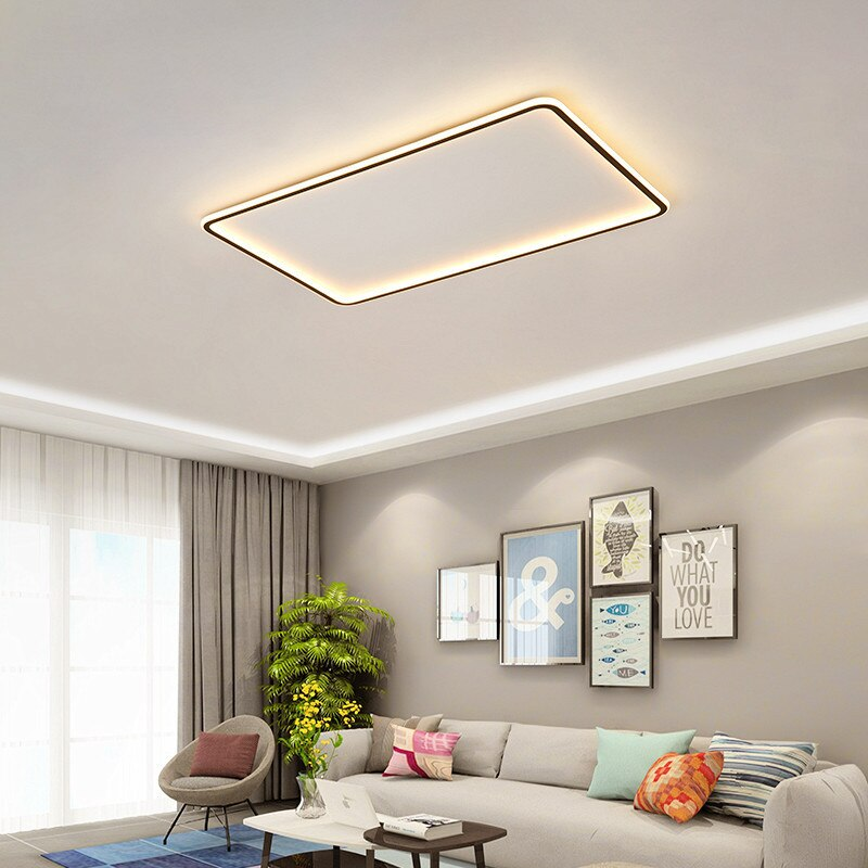 Nordic Living room ultra-thin ceiling lamp
