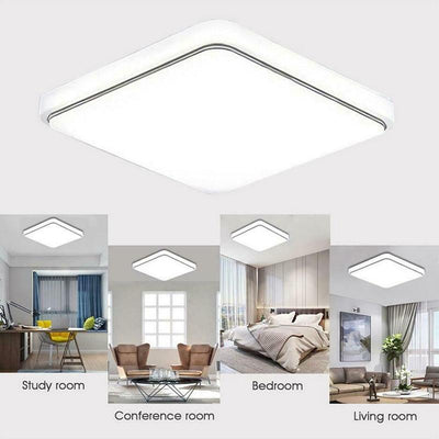 Light Square ceiling chandelier