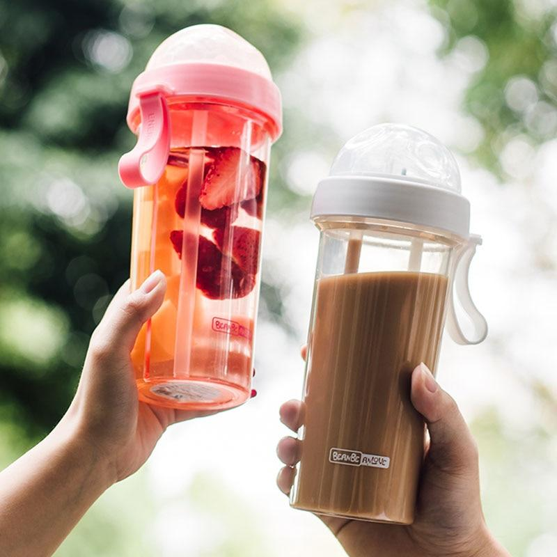 Double Sippy Outdoor Sports Tumbler Coffee Mug