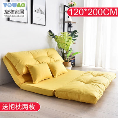Creative Multifunctional folding mattress sofa bed