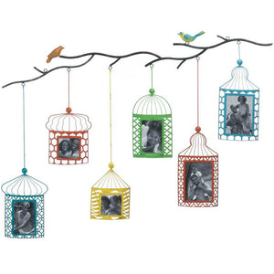 Birds and Branches Photo Frame Wall Decor