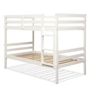 Twin Bunk Bed Solid Hardwood