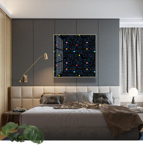 Classic Arcade Game Pac-Man Wall Art Canvas