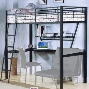 Space Saving Bunk Bed With Desk