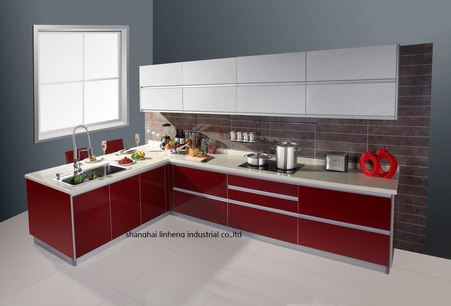 High gloss/lacquer kitchen cabinet mordern