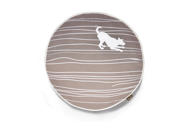 Dog on Wire - Round Dog Bed