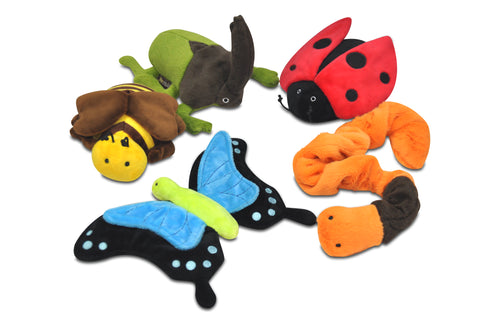 Bugging Out Plush Dog Toys Collection Set