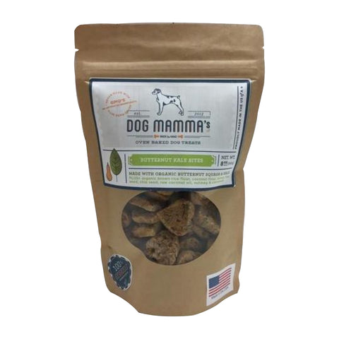 Butternut Kale Bites Organic Dog Treats