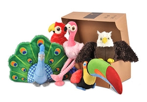 Fetching Flock Plush Dog Toy Collection Set