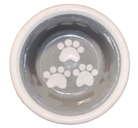 Triple Paw Design - Handmade Ceramic Dog Bowls
