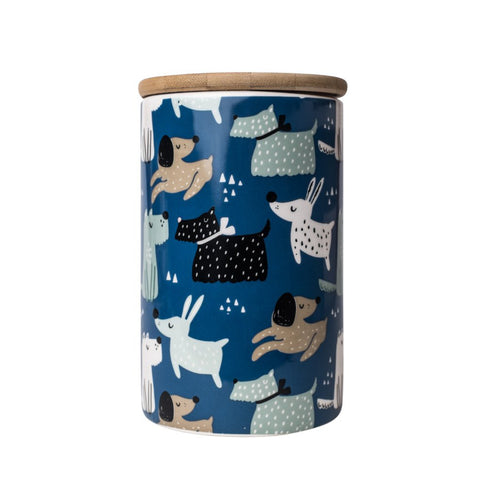 Hooper Design - Ceramic Dog Treat Jar