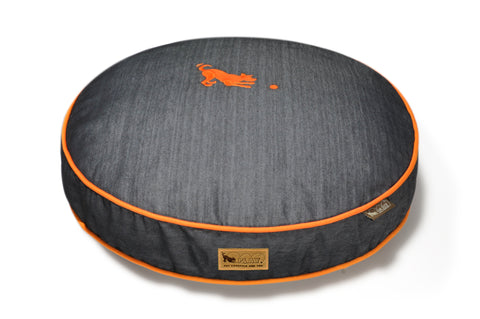 Urban Denim - Round Dog Bed