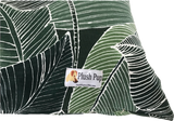 Palm Leaf Design - Dog Bed Cover