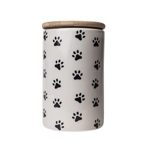 Pawz Design - Ceramic Dog Treat Jar