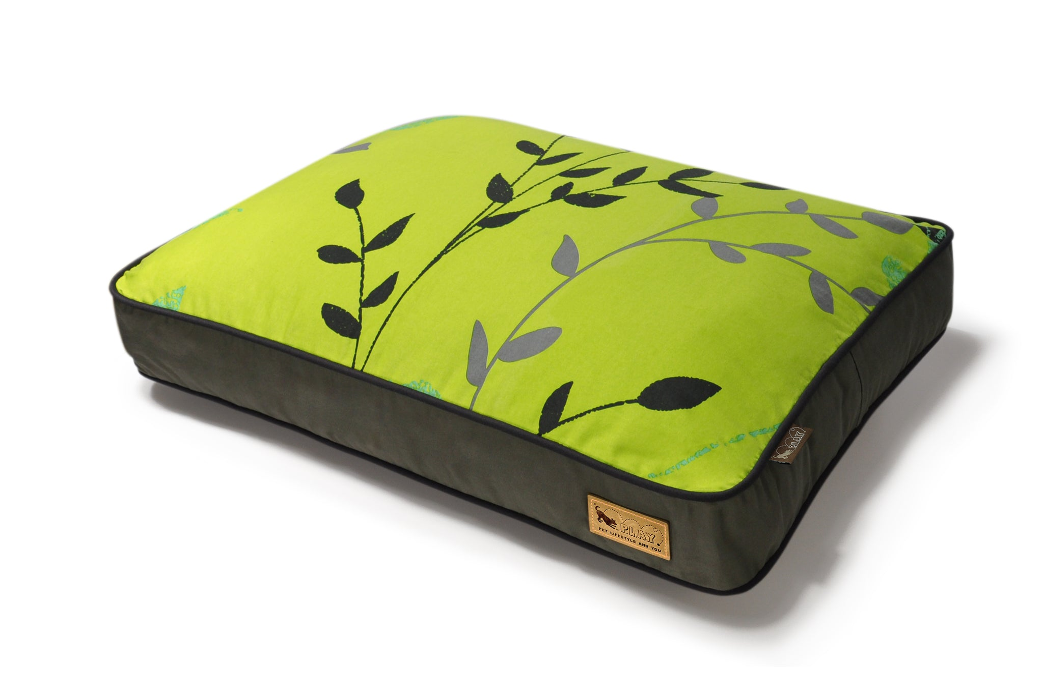 Greenery - Rectangle Dog Bed