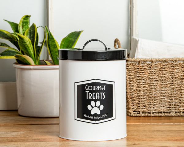Gourmet Treats - Dog Treat Storage Canister