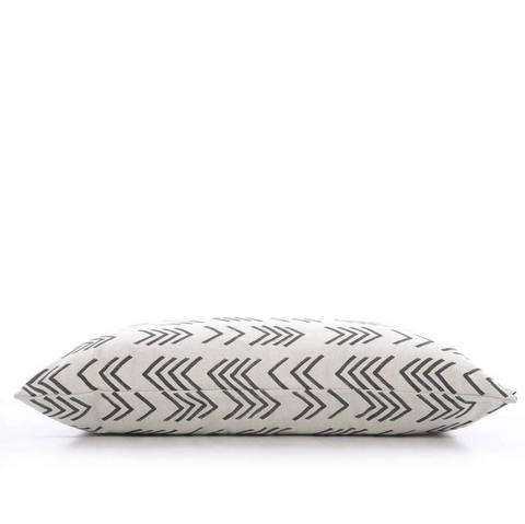 Mud Cloth Design with Chevron Pattern -  Dog Bed Cover