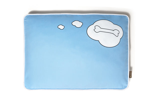 What Dogs Dream - Rectangle Dog Bed
