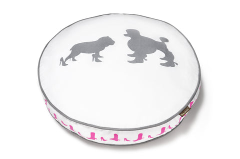 Heels & Boots - Round Dog Bed