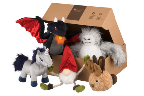 Willow's Mythical Plush Dog Toy Collection