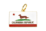 California Republic - Dog Tag
