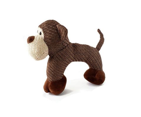 Cliff the Monkey - Plush Dog Toy with Squeakers