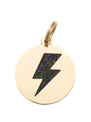 Lightning Bolt - Dog Tag