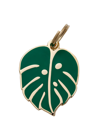 Monstera Leaf - Dog Tag