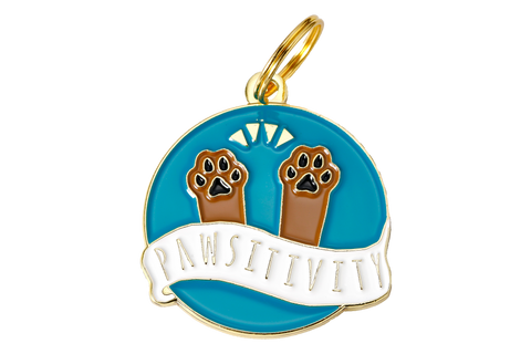 Pawsitivity - Dog Tag