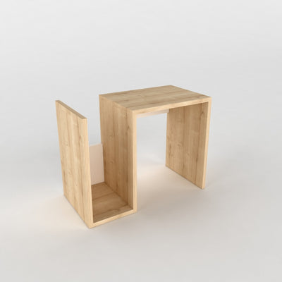 Table d'appoint design - Beige