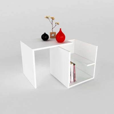 Table d'appoint Gily - Blanc